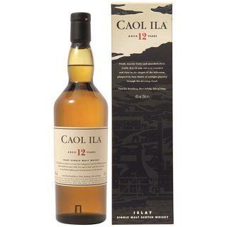 Caol Ila 12 Jahre Islay Scotch Single Malt Whisky 43%...