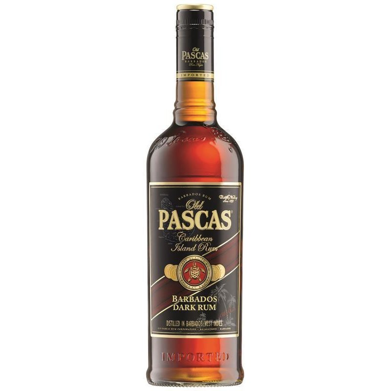 Old Pascas Dark brauner Rum aus Barbados 37,5% vol. 0,7l