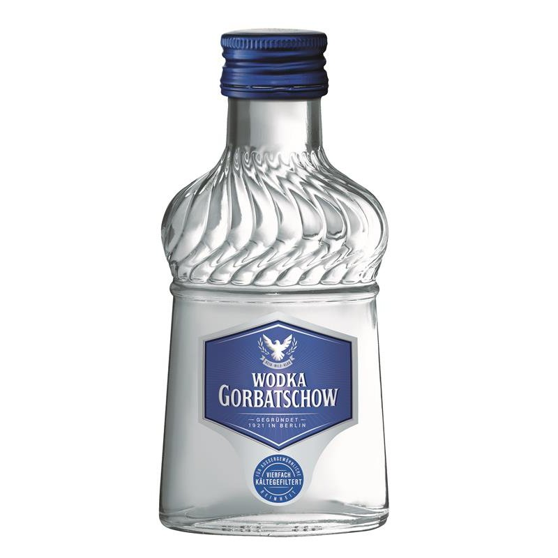 Gorbatschow Vodka 12 x 10cl Miniaturen 37,5% vol.