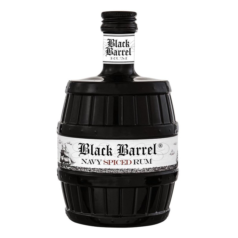 A. H. Riise Black Barrel Navy Spiced Rum 40% vol. 0,7l