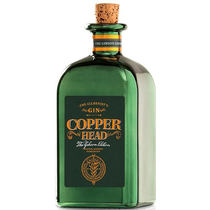Copperhead The Gibson Edition The Alchemists Gin 40% vol. 0,5l