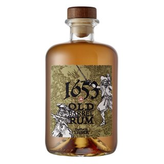 Studer 1653 Old Barrel Swiss Rum 44,8% vol. 0,5l
