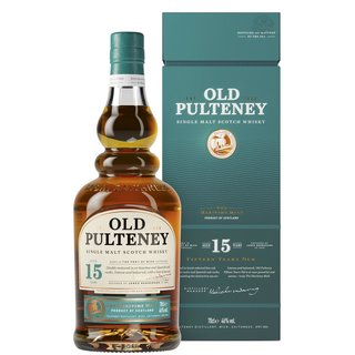 Old Pulteney 15 Jahre Highland Single Malt Whisky 40%...