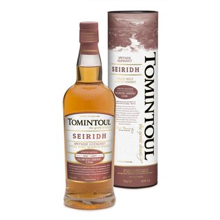Tomintoul Seiridh Speyside Single Malt Whisky 40% vol. 0,7l