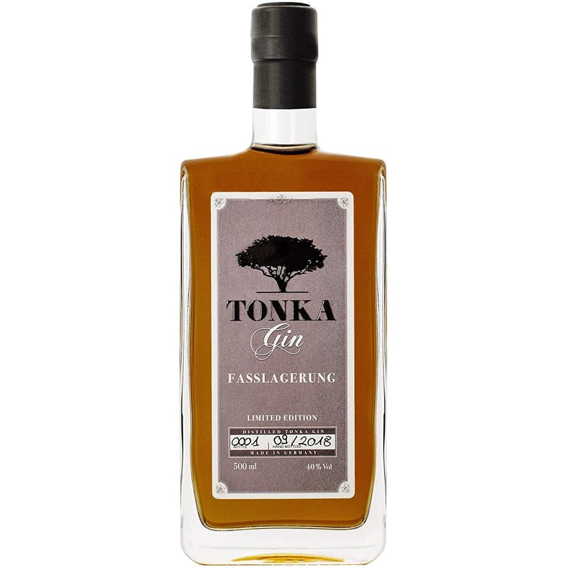 Tonka Fasslagerung Handcrafted Gin 47% vol. 0,5 l