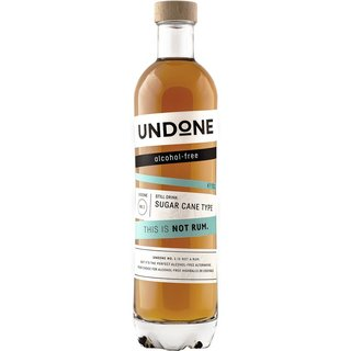 Undone No.1 Not Rum Sugar Cane Type Sirup 0,7l