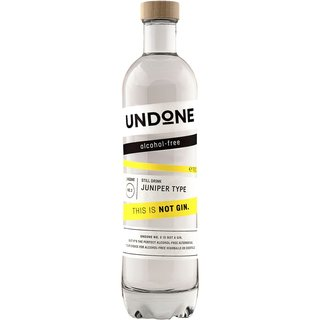 Undone No.2 Not Gin Juniper Type Sirup 0,7l