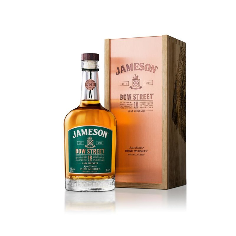 Jameson Bow Street 18 Jahre Blended Irish Whiskey 55,3% vol. 0,7l