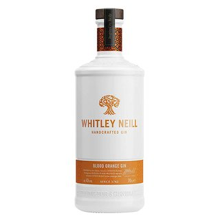 Whitley Neill Blood Orange Handcrafted Dry Gin 43% vol. 0,7l