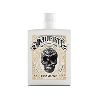 Amuerte Coca Leaf Gin White Edition 43% vol. 0,7l