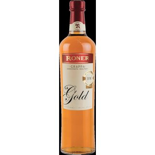 Roner La Gold Grappa 40% vol. 0,7l