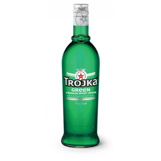 Trojka Green Vodka Likör 17% vol. 0,7l